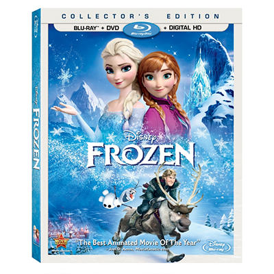 Frozen (Blu-ray + DVD)