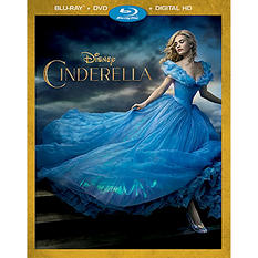 Cinderella (Live-Action) - Various Formats