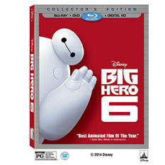 Big Hero 6 2-Disc BD Combo Pack [BD+DVD+Digital HD]