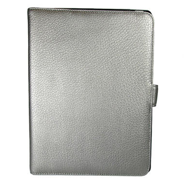 Wilsons Genuine Leather Tab Case for iPad - Pewter