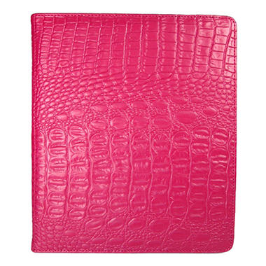 Wilsons Genuine Leather Elastic Case for iPad - Pink