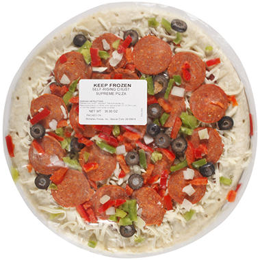 Daily Chef™ Rising Crust Supreme Pizza - 35 oz. - 3 pk.