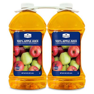 Member's Mark® 100% Apple Juice - 2/96 oz. bottles