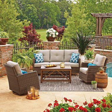 Members mark agio collection fremont seating set sam 39 s club for Small patio table set