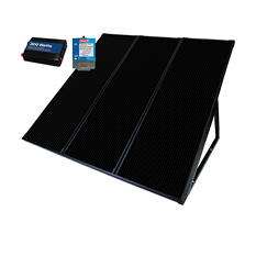 Coleman 55 Watt Solar Back Up Kit
