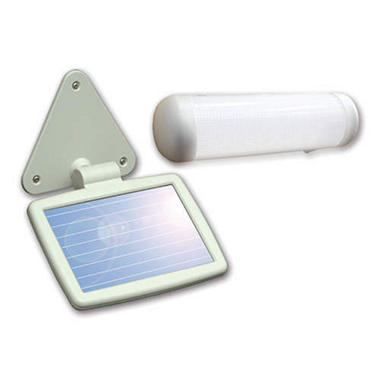 Solar-Powered LED Shed Light