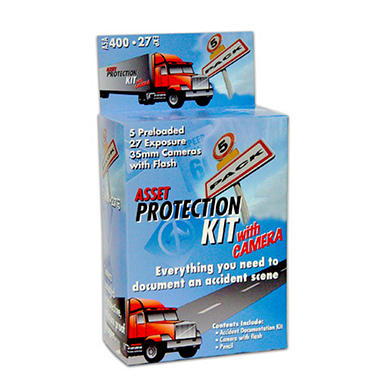 The Asset Protection Kit w/Camera - 5 pk.