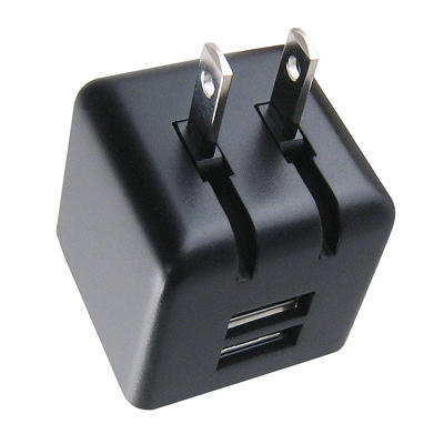 neo-Style Dual USB Universal Wall Charger