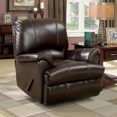 Verona Recliner - Leather