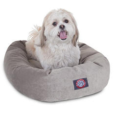 "Majestic Pet Velvet Bagel Pet Bed, 24"" (Choose Your Color)"