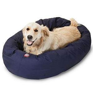 "Bagel Pet Bed, 40"" (Choose Your Color)"