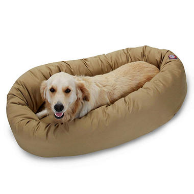 "Pet Bagel Bed - 40"" - Various Colors"