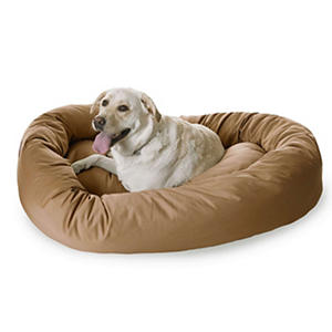 "Bagel Pet Bed, 52"" (Choose Your Color)"