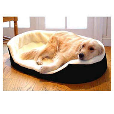 Lounger Pet Bed - Black
