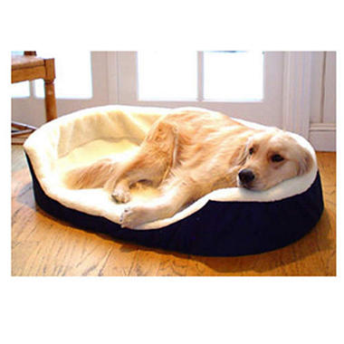 Lounger Pet Bed - Blue - Various Sizes