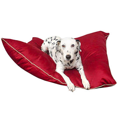 Super Value Pet Bed - Burgundy - Large