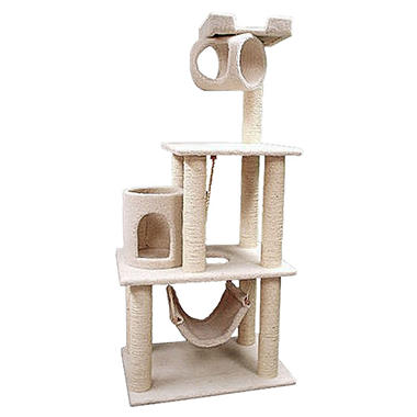 "Bungalow Cat Condo - 62""H"