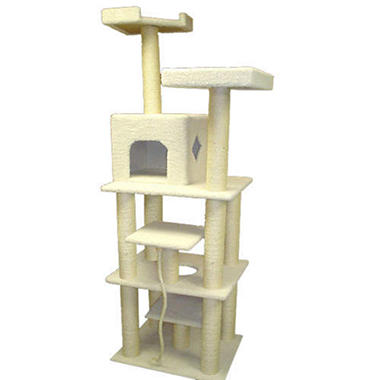 "Bungalow Cat Condo - 78""H"