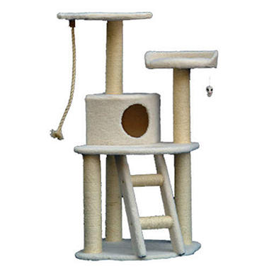 "Bungalow Cat Condo - 48""H"