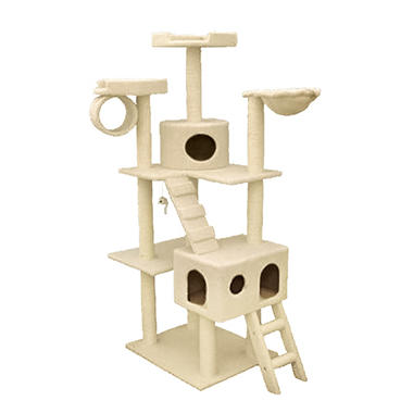 Bungalow Cat Condo - 73""