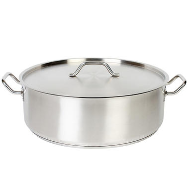 15 qt. Stainless Steel Brazier