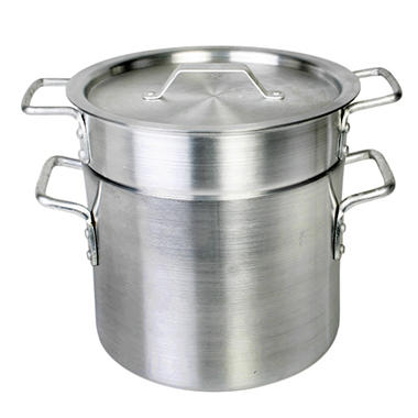 Aluminum Heavy Gauge Double Boiler - 3 pc. - Various Sizes