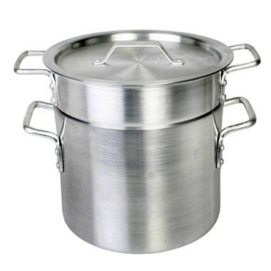 Aluminum Double Boiler - 20 qt. - 3 pc. Set