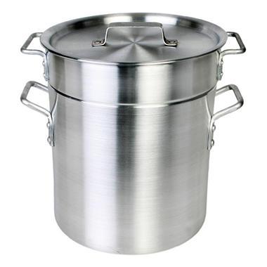 12 Qt. Aluminum Pasta Cooker - Mirror Finish