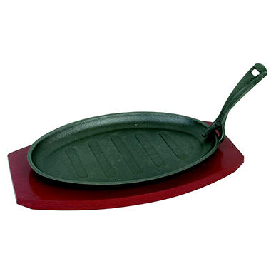 Excellante Cast Iron Griddle - 3 pc.