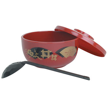 Japanese Noodle Bowl - Red