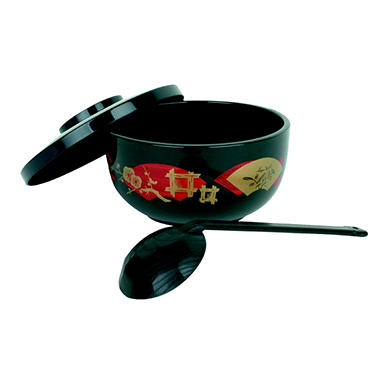 Japanese Noodle Bowl - Black