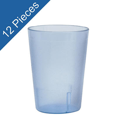 Plastic Tumbler - Blue - 12 pk.