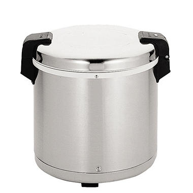 Stainless Steel 50 Cup Electric Rice Warmer