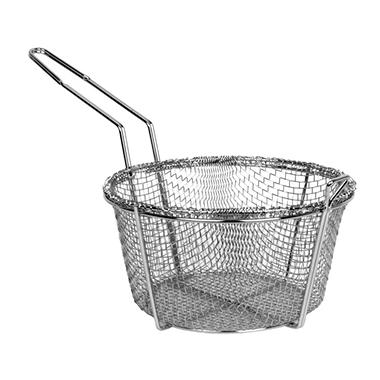 Stainless Steel Round Fry Basket - Various Sizes