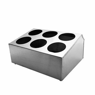 Flatware Cylinder Holder - 6 Holes
