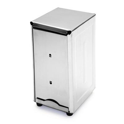Stainless Steel Napkin Dispenser - Tall