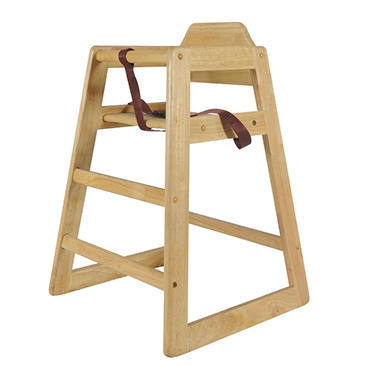 Wood High Chair - Various Colors