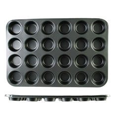 Nonstick Muffin Pan - 24 Standard Cups