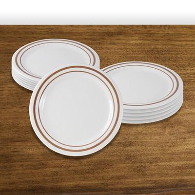 """Winston Melamine Dinner Plate - 9"""" - 12 pk."""