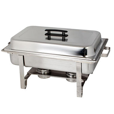 Full Size Stainless Steel Economy Chafer - 8 qt.