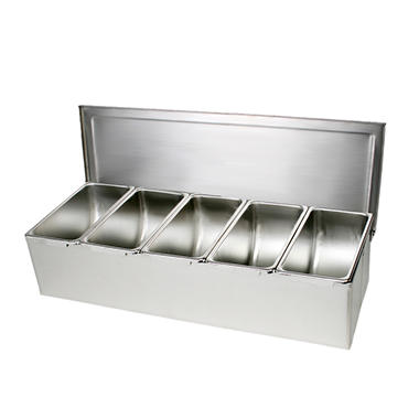 Compartment Condiment Dispenser - Various Sizes
