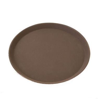 "Excellante Slip Resistant Tray - 22"" x 27"" Oval - Choose Color"