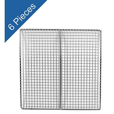Square Fryer Screens - 6 pk.