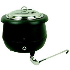 Stainless Steel Soup Warmer - 10.5 qt.