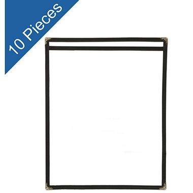 Black Menu Folder