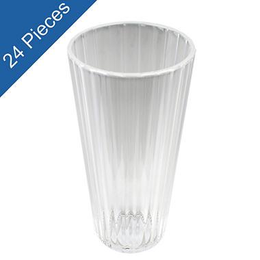 20oz. Clear Acrylic Kaleidoscope Tumblers - 24 pk.