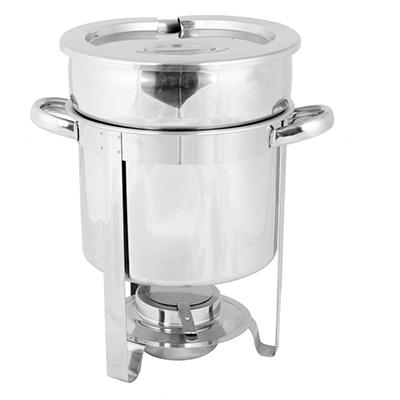 Stainless Steel Marmite Chafer - 7 qt.