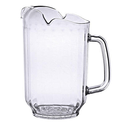 64 oz. Water Pitcher - Clear Polycarbonate