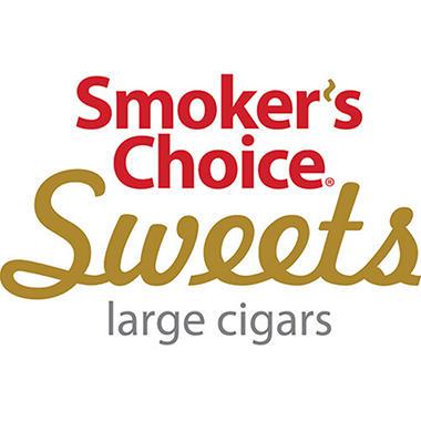 Smoker's Choice Cherry Sweet Cigars - 200 ct.