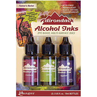 Adirondack Alcohol Ink 3-Pack (.5 Oz Each) - Farme